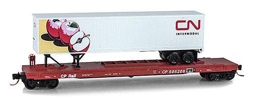 N Scale - Micro-Trains - NSC MTL 09-50 - Flatcar, 60 Foot - Rio Grande - 7178