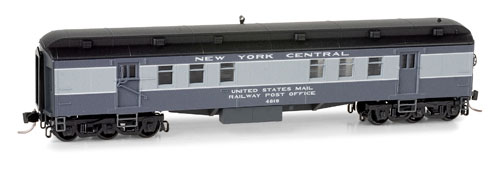 N Scale - Micro-Trains - 140 00 150 - Passenger Car, Heavyweight, Pullman RPO - Canadian National - 7774