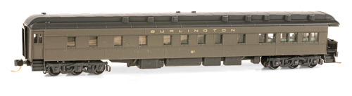 N Scale - Micro-Trains - NSE MTL 14-176 - Passenger Car, Heavyweight, Pullman, Observation - Rio Grande - 102