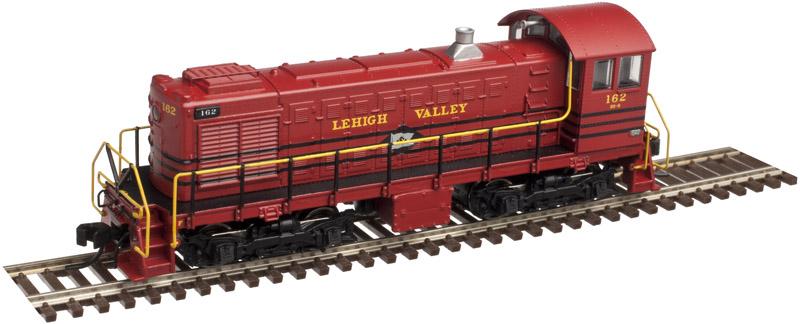 N Scale - Atlas - 40 002 124 - Locomotive, Diesel, Alco S-2 - Canadian National - 8116