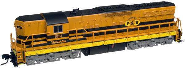 N Scale - Atlas - 4537 - Locomotive, Diesel, EMD SD9 - Nickel Plate Road - 345