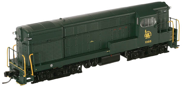 N Scale - Atlas - 52083 - Locomotive, Diesel, Fairbanks Morse, H-15-44 - Kansas City Southern - 40
