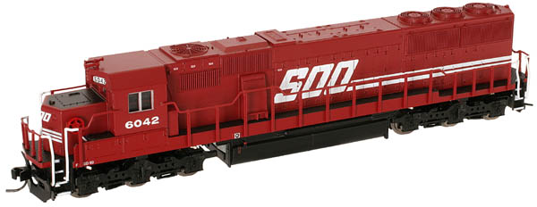 N Scale - Atlas - 49207 - Locomotive, Diesel, EMD SD60M - Burlington Northern - 9206