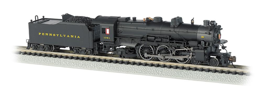 N Scale - Bachmann - 52853 - Locomotive, Steam, 4-6-2, Pacific K4 - Pennsylvania - 5448