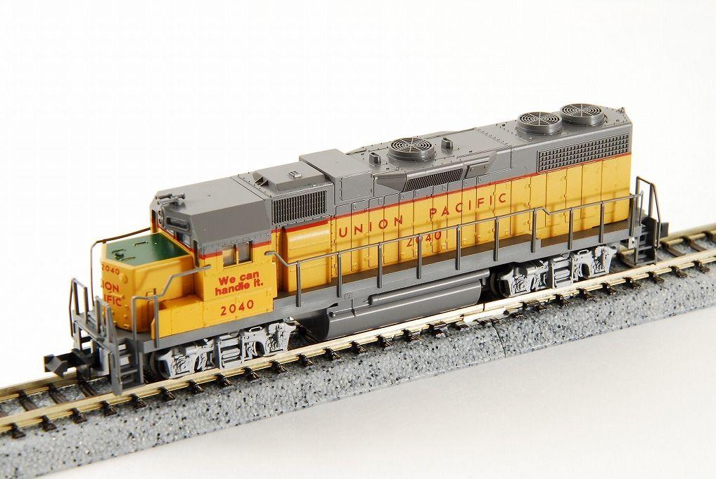 N Scale - Kato USA - 176-010 - Locomotive, Diesel, EMD GP38-2 - Undecorated