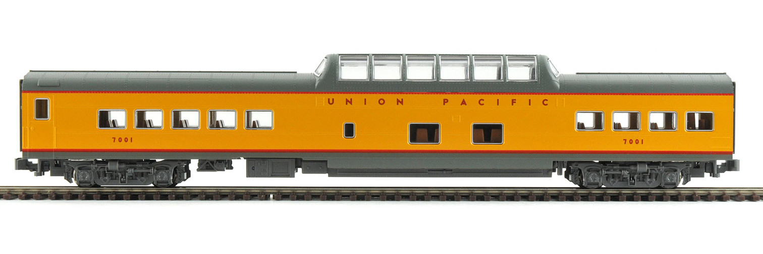 N Scale - Kato USA - 106-5013-C - Passenger Car, Pullman, Dome Coach - Union Pacific - 7007