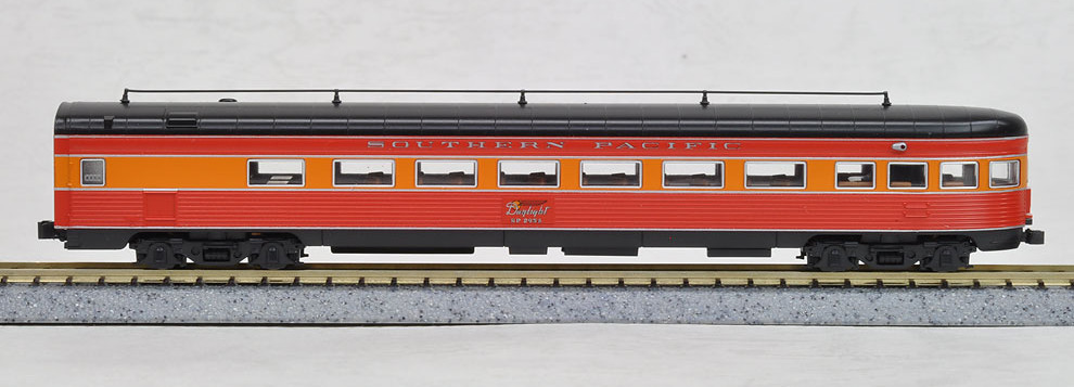 N Scale - Kato USA - 106-060-J - Passenger Car, Pullman, Parlor Observation - Southern Pacific - 2955