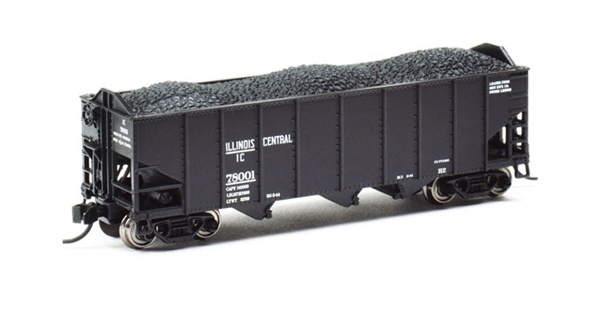 N Scale - Broadway Limited - BLI-3120 - Open Hopper, 3-Bay, H2A - Baltimore & Ohio