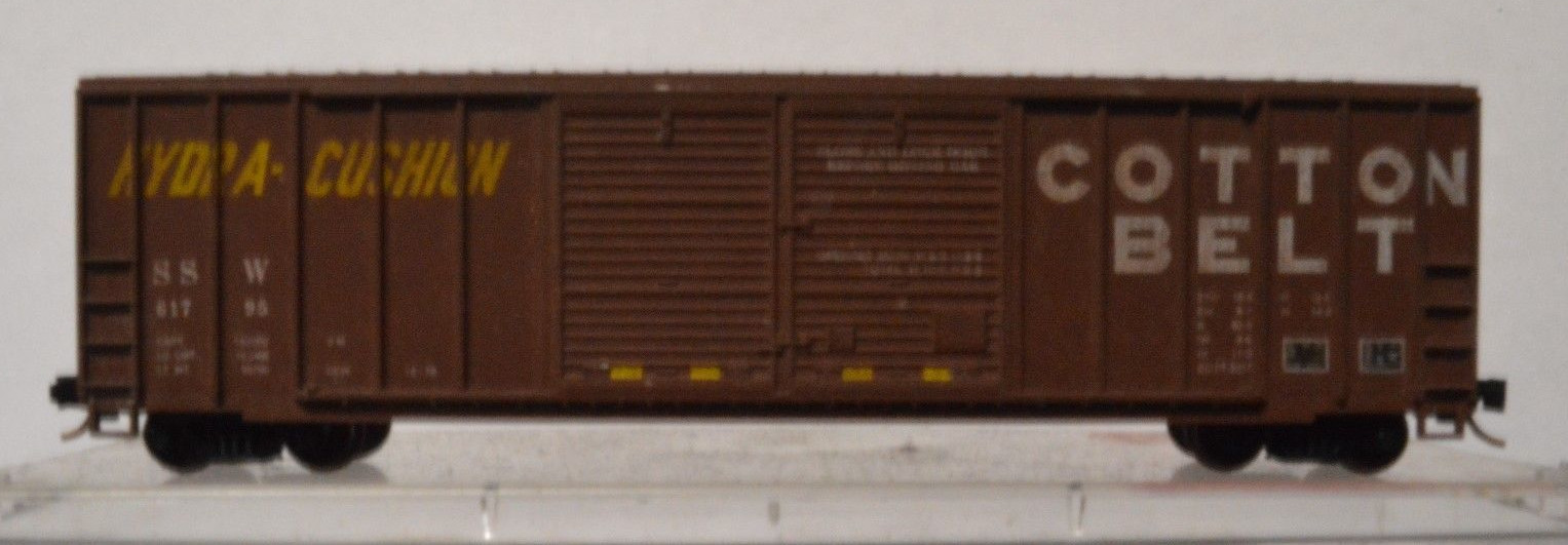 N Scale - Roundhouse - 82905 - Boxcar, 50 Foot, FMC, 5077 - Seattle & North Coast - 1199