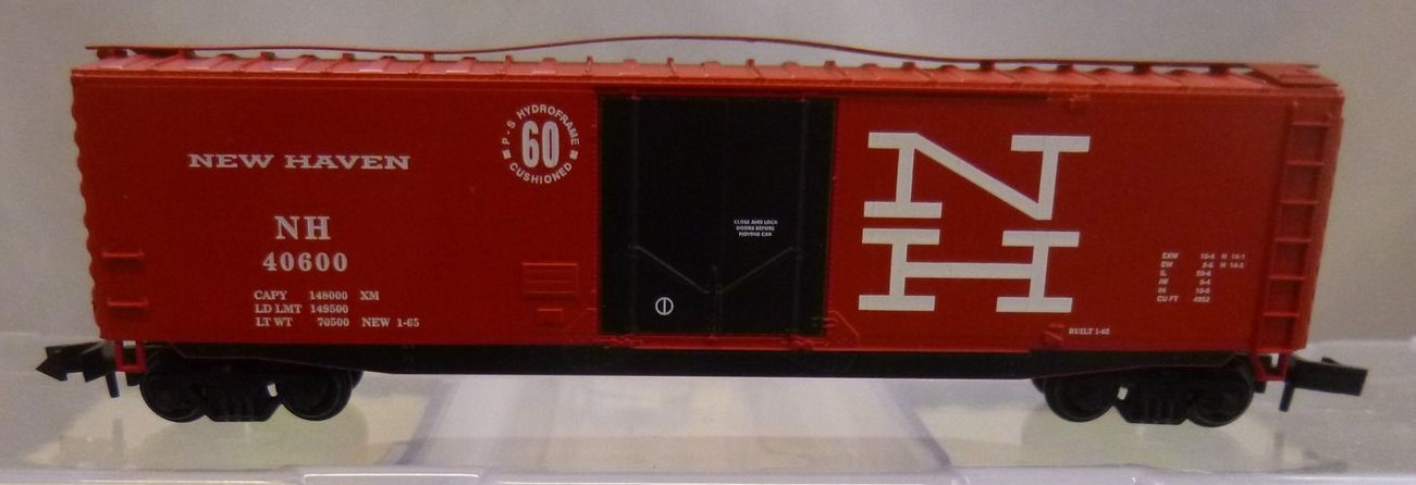 N Scale - Athearn - 14193 - Boxcar, 50 Foot, PS-1 - Chesapeake & Ohio - 23296