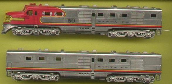N Scale - Hallmark Models - NS0001 - Locomotive, Diesel, Alco DL-109 - Rock Island