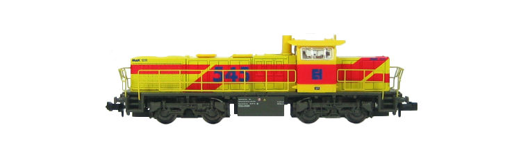 N Scale - Piko - 40416 - Locomotive, Diesel, Vossloh G1206 - Train Group - 105