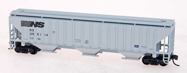 N Scale - Precision Masters - 1404 - Covered Hopper, 3-Bay, PS2-CD 4750 - Southern Pacific - 401672