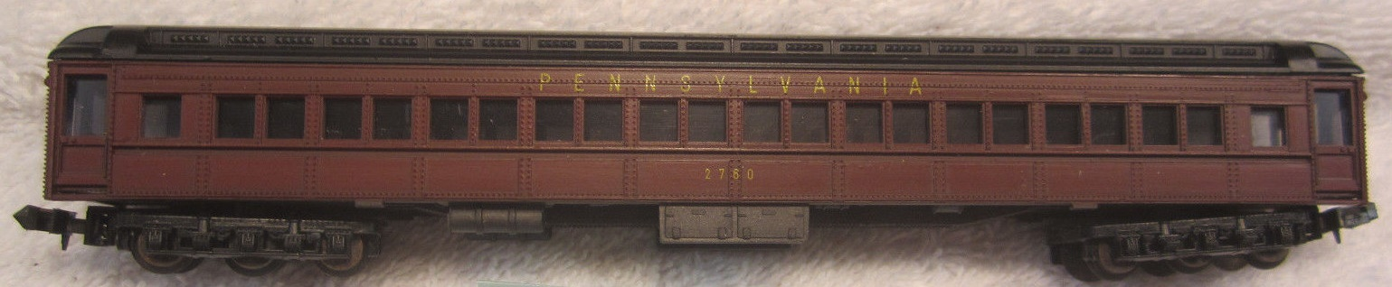 N Scale - Bev-Bel - 4433 - Passenger Car, Heavyweight, Pullman, Paired Window Coach - Rio Grande - Royal Gorge