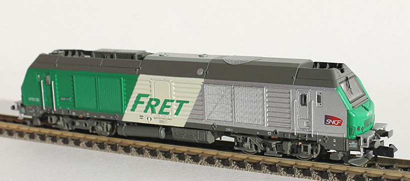 N Scale - REE Modèles - NW-111 - Locomotive, Diesel, Alstom Prima - VFLI - 75043