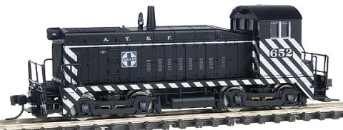 N Scale - Life-Like - 7961 - Locomotive, Diesel, EMD SW8 - Undecorated