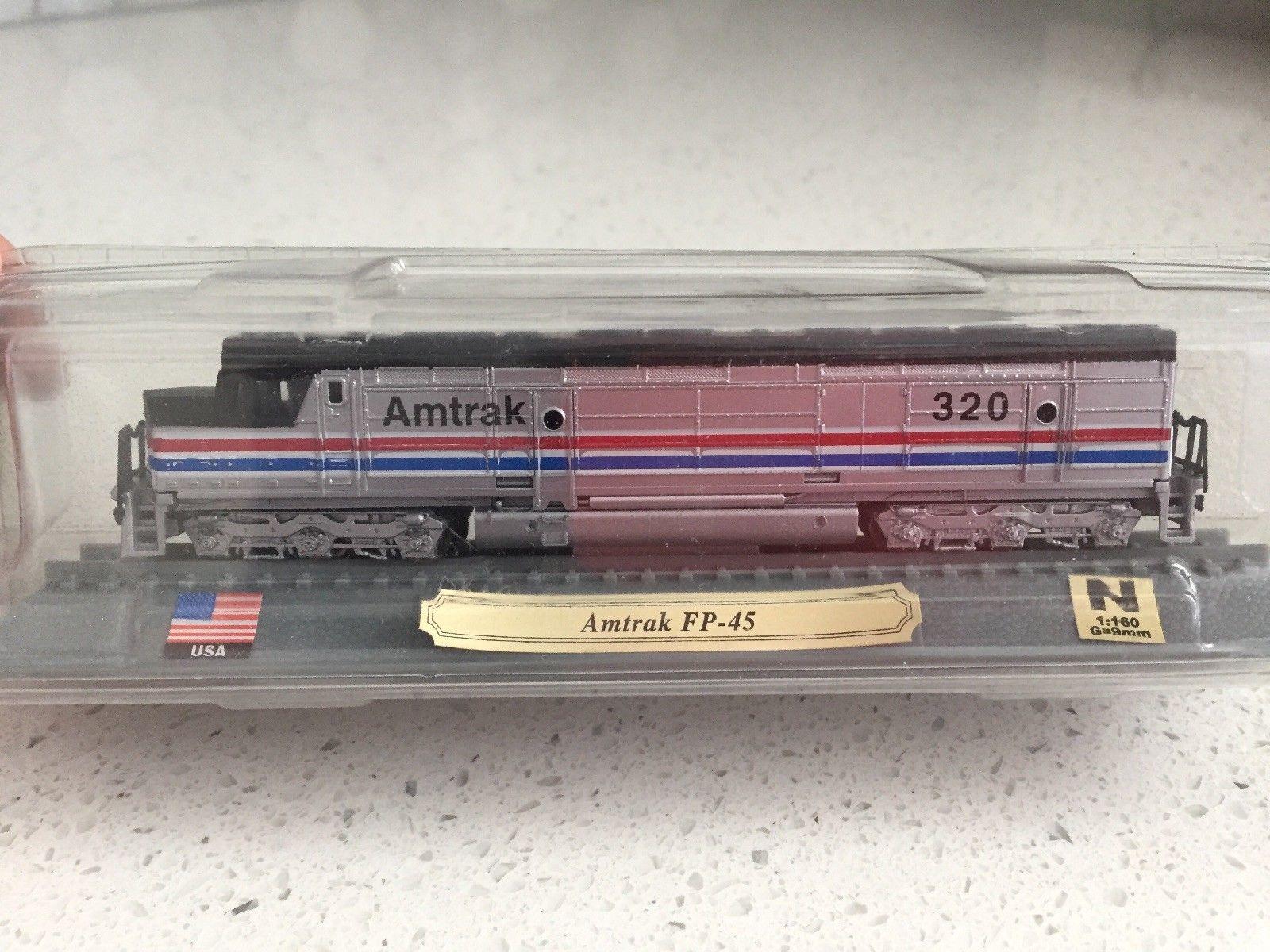 N Scale - Del Prado - Amtrak 320 - Locomotive, Diesel, EMD FP45 - Amtrak - 320