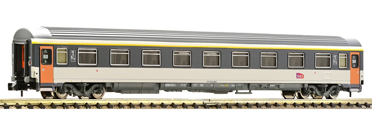 N Scale - Fleischmann - 814484 - Passenger Car, UIC, Type Z - MÁV (Hungarian State Railways) - 61 55 21-91 004-7