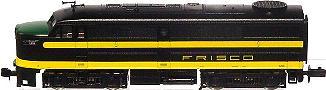N Scale - Life-Like - 7458-A - Locomotive, Diesel, Alco FA/FB - Frisco - 5215