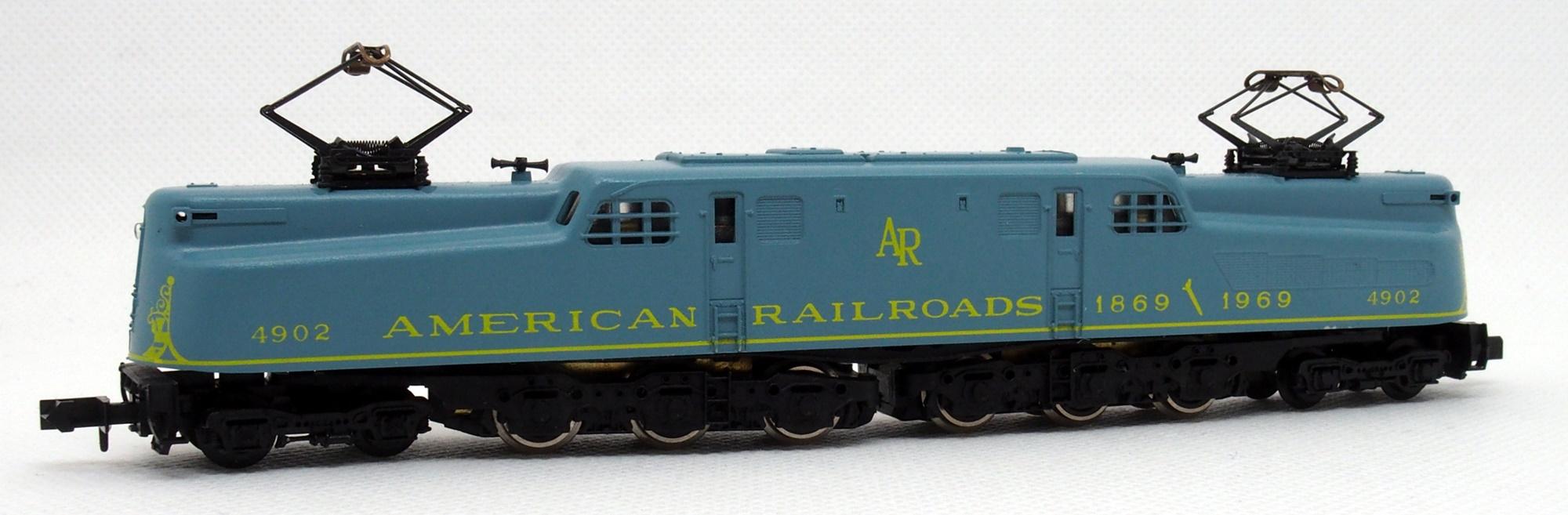 N Scale - Arnold - 5134 - Locomotive, Electric, GG1 - American Railroads (Rivarossi) - 4902