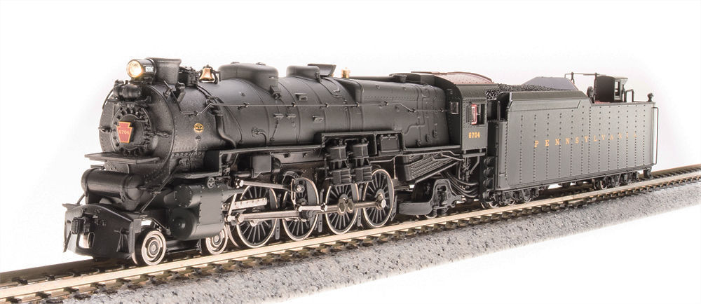 N Scale - Broadway Limited - 3077 - Locomotive, Steam, 4-8-2 Mountain M1 - Pennsylvania - 6716