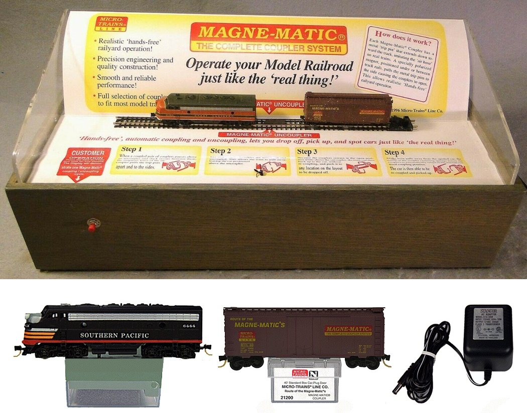 N Scale - Micro-Trains - 80S - Promotional, Display - Southern Pacific