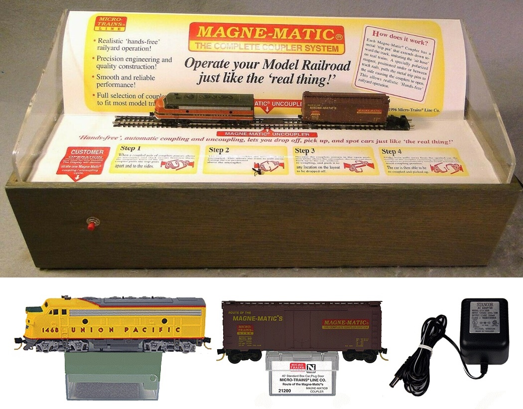 N Scale - Micro-Trains - 80S - Promotional, Display - Union Pacific