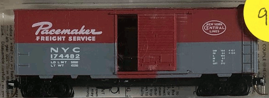 N Scale - Micro-Trains - 20240 - Boxcar, 40 Foot, PS-1 - New York Central - 174482