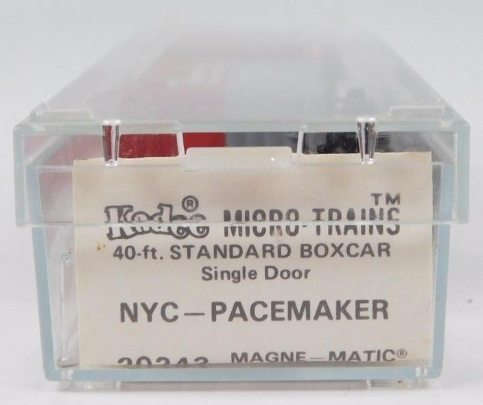 N Scale - Micro-Trains - 20240 - Boxcar, 40 Foot, PS-1 - New York Central - 174493