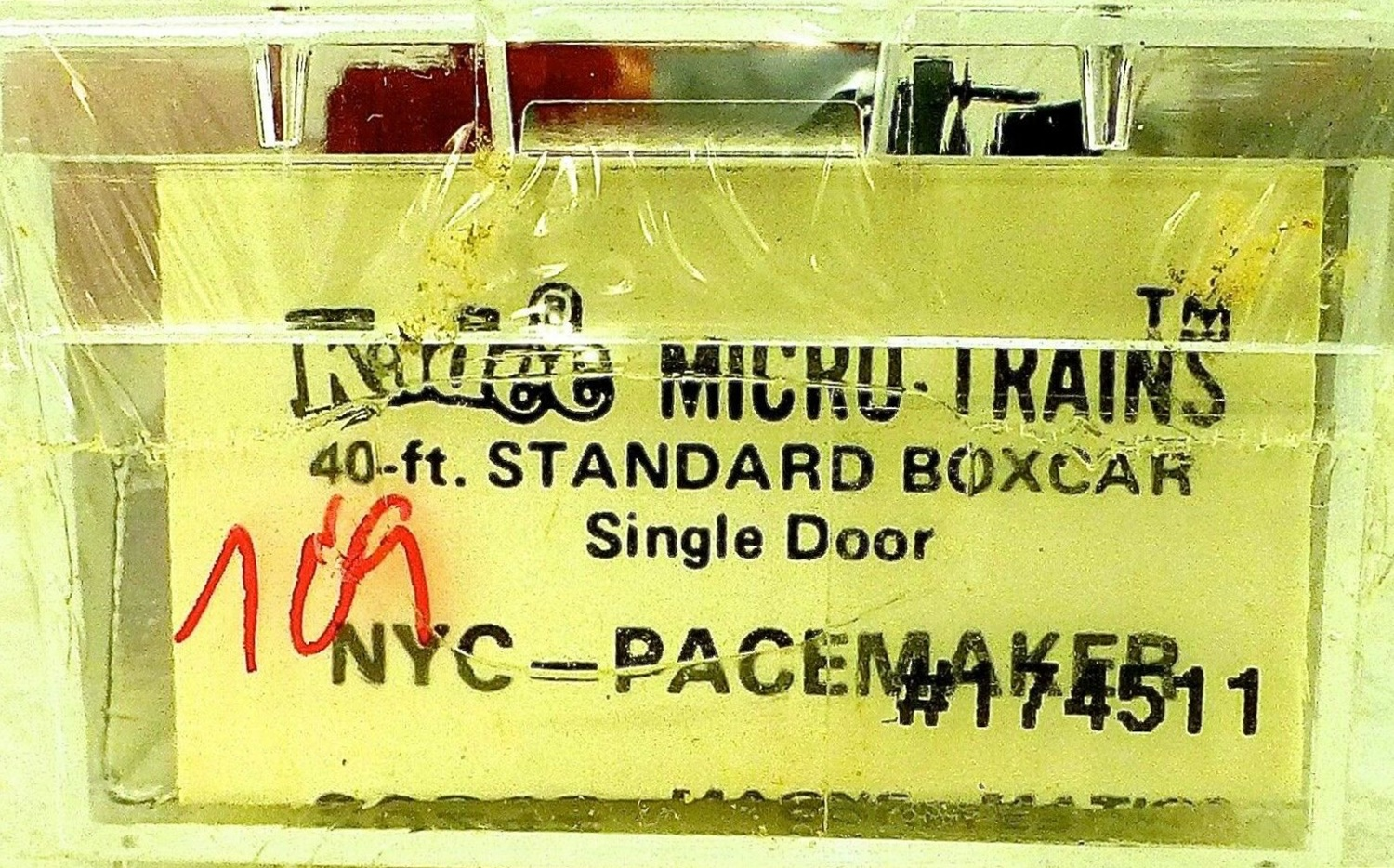 N Scale - Micro-Trains - 20240 - Boxcar, 40 Foot, PS-1 - New York Central - 174511