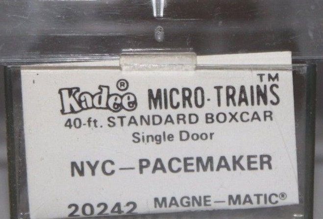 N Scale - Micro-Trains - 20240 - Boxcar, 40 Foot, PS-1 - New York Central - 174483