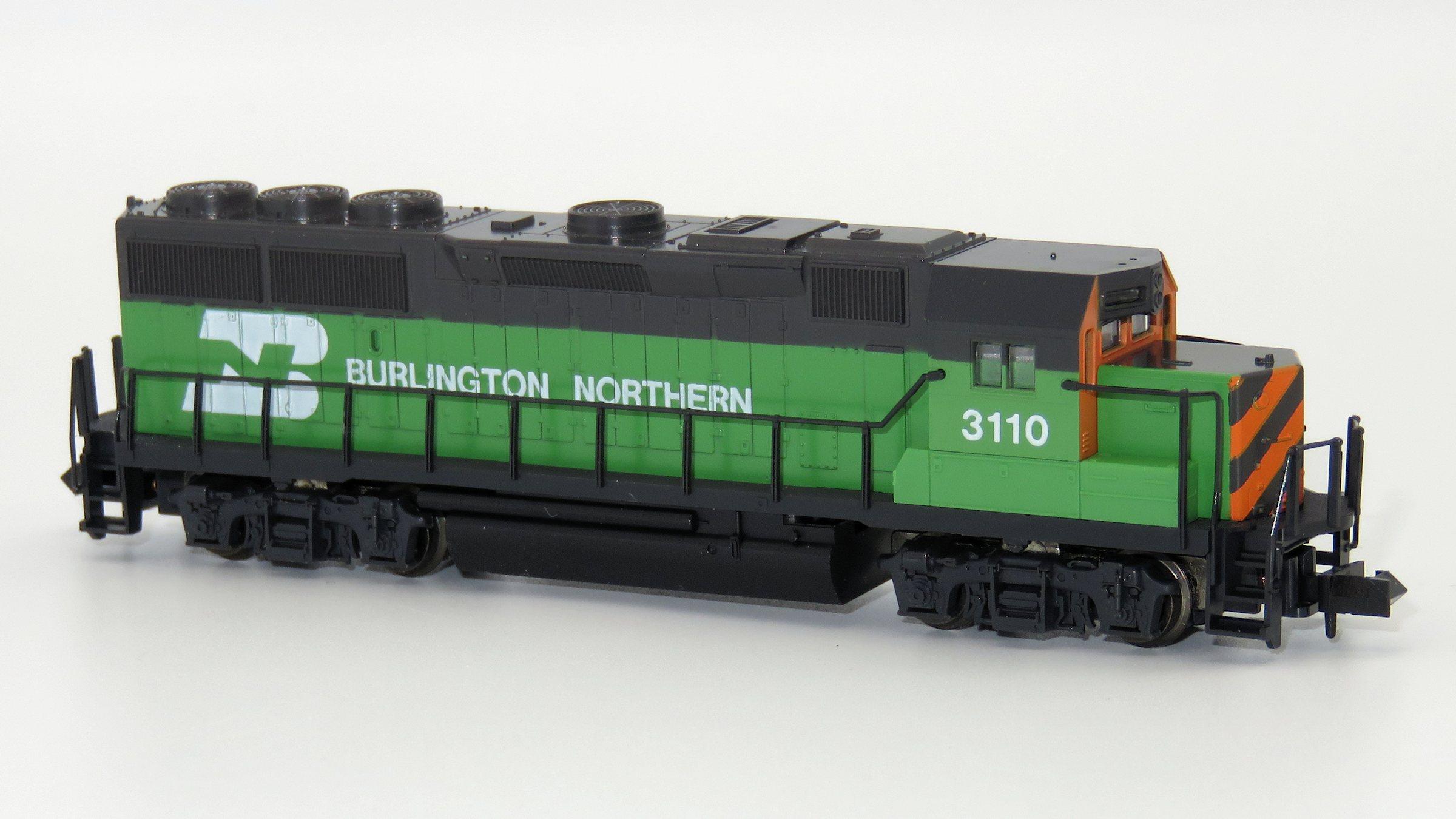N Scale - Kato USA - 176-034 - Locomotive, Diesel, EMD GP50 - Burlington Northern - 3110