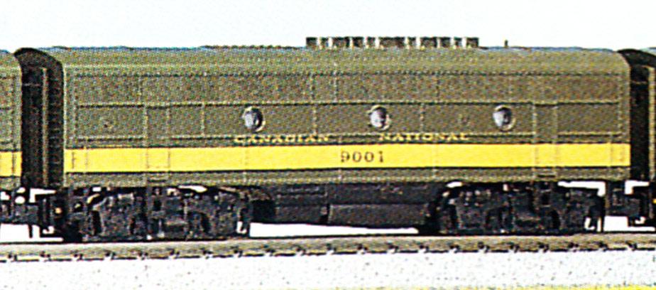 N Scale - Kato USA - 176-084 - Locomotive, Diesel, EMD F3 - Canadian National - 9001