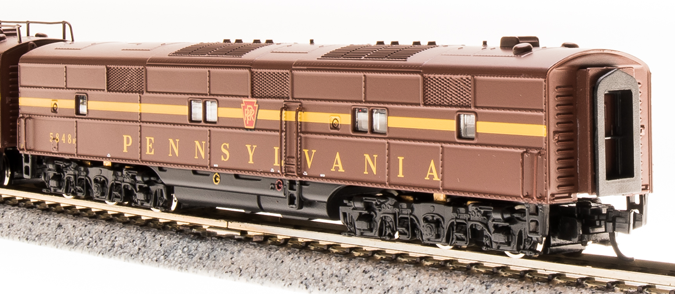 N Scale - Broadway Limited - 3232 - Locomotive, Diesel, EMD E7 - Pennsylvania - 5864B