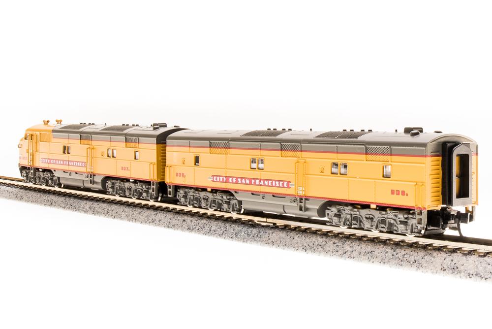 N Scale - Broadway Limited - 3235 - Locomotive, Diesel, EMD E7 - Union Pacific - 909B
