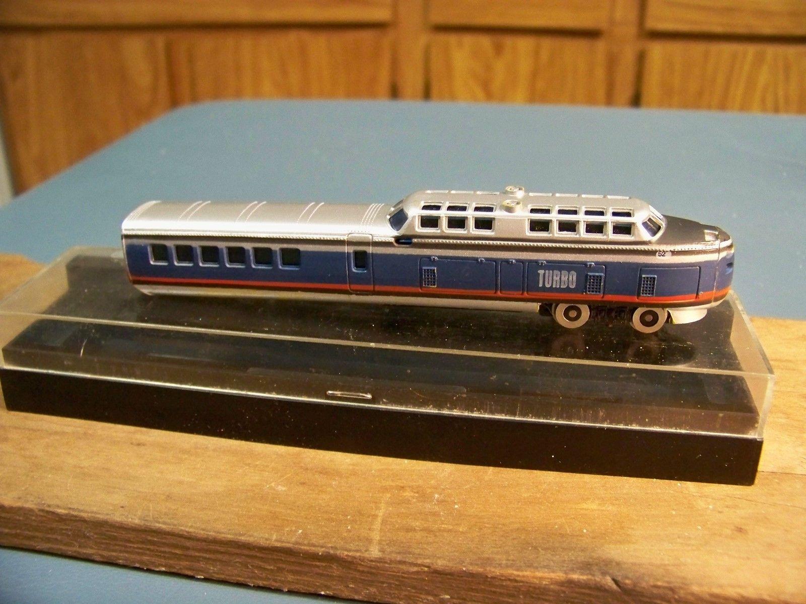 N Scale - Bachmann - 4740 - TurboTrain - Penn Central