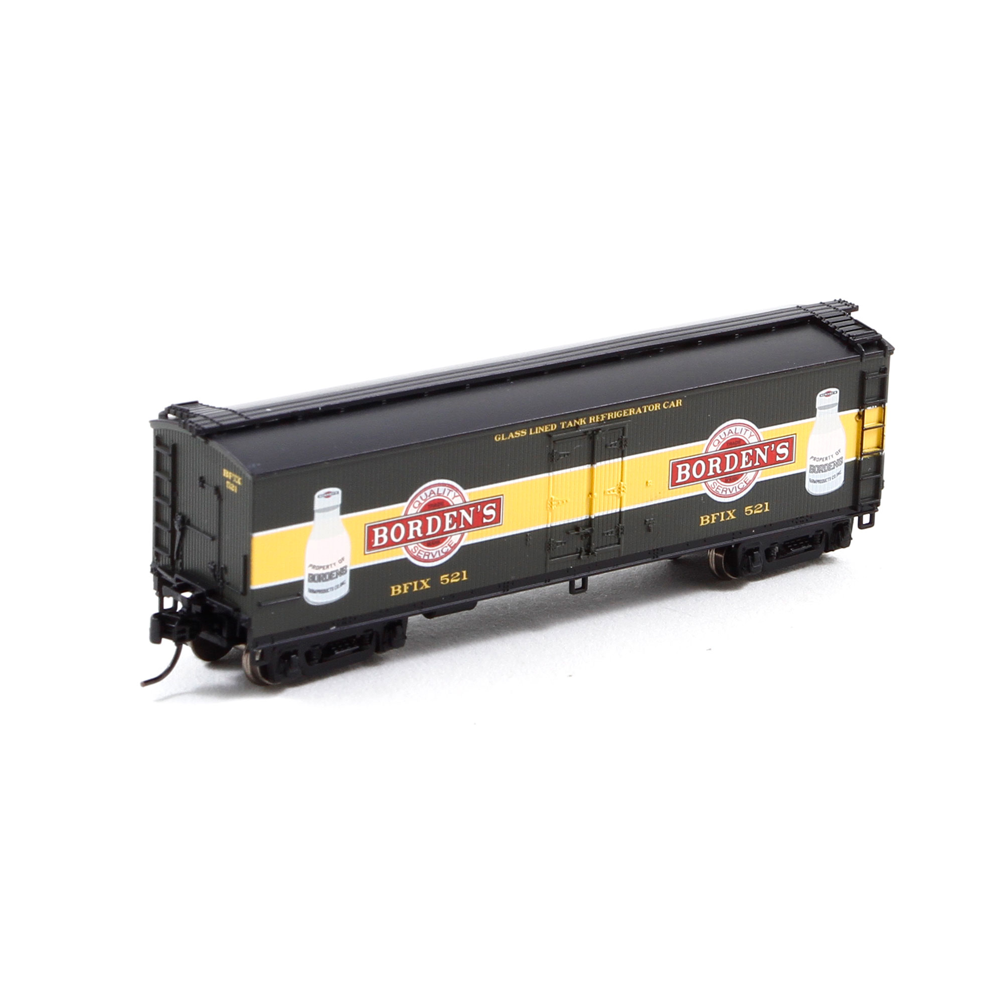 N Scale - Athearn - 23675 - Reefer, 40 Foot, Pfaudler - Borden
