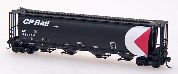 N Scale - InterMountain - 65115-20 - Covered Hopper, 4-Bay, Cylindrical - Canadian Pacific - 388709