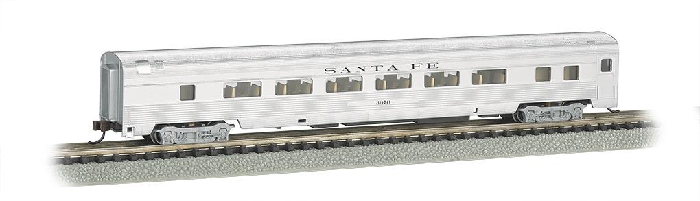 N Scale - Bachmann - 14751 - Passenger Car, Streamlined, Coach - Santa Fe - 3070