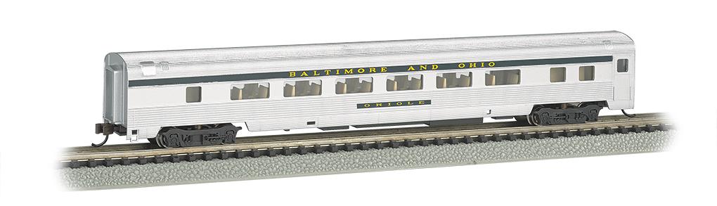 N Scale - Bachmann - 14753 - Passenger Car, Streamlined, Coach - Baltimore & Ohio - Oriole