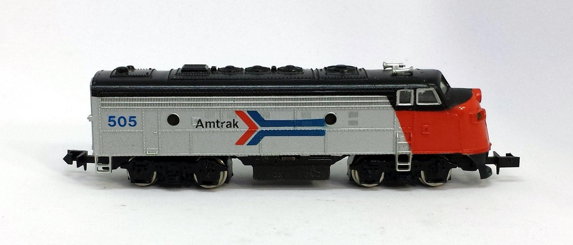 N Scale - Bachmann - 4659 - Locomotive, Diesel, EMD F9 - Amtrak - 505