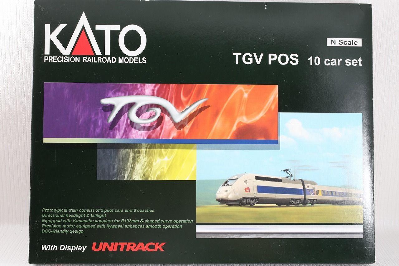 N Scale - Kato Lemke - 10-914-1 - Passenger Train, Electric, TGV - SNCF - 4404