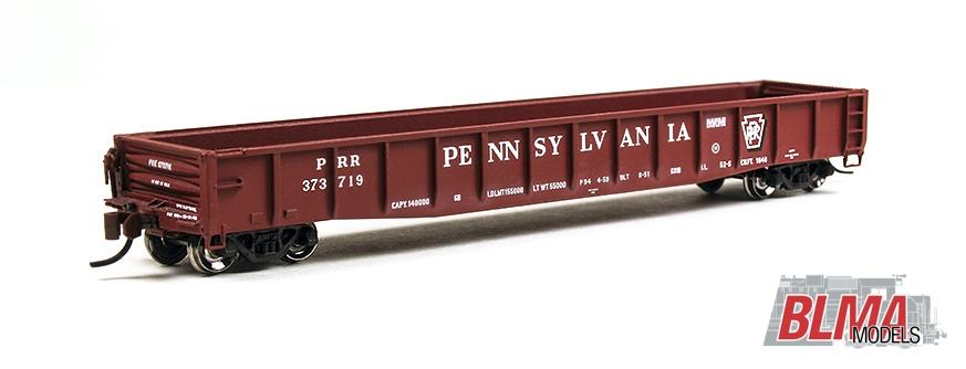 N Scale - BLMA - 14056 - Gondola, 52 Foot, ACF 70-Ton - Pennsylvania - 372895