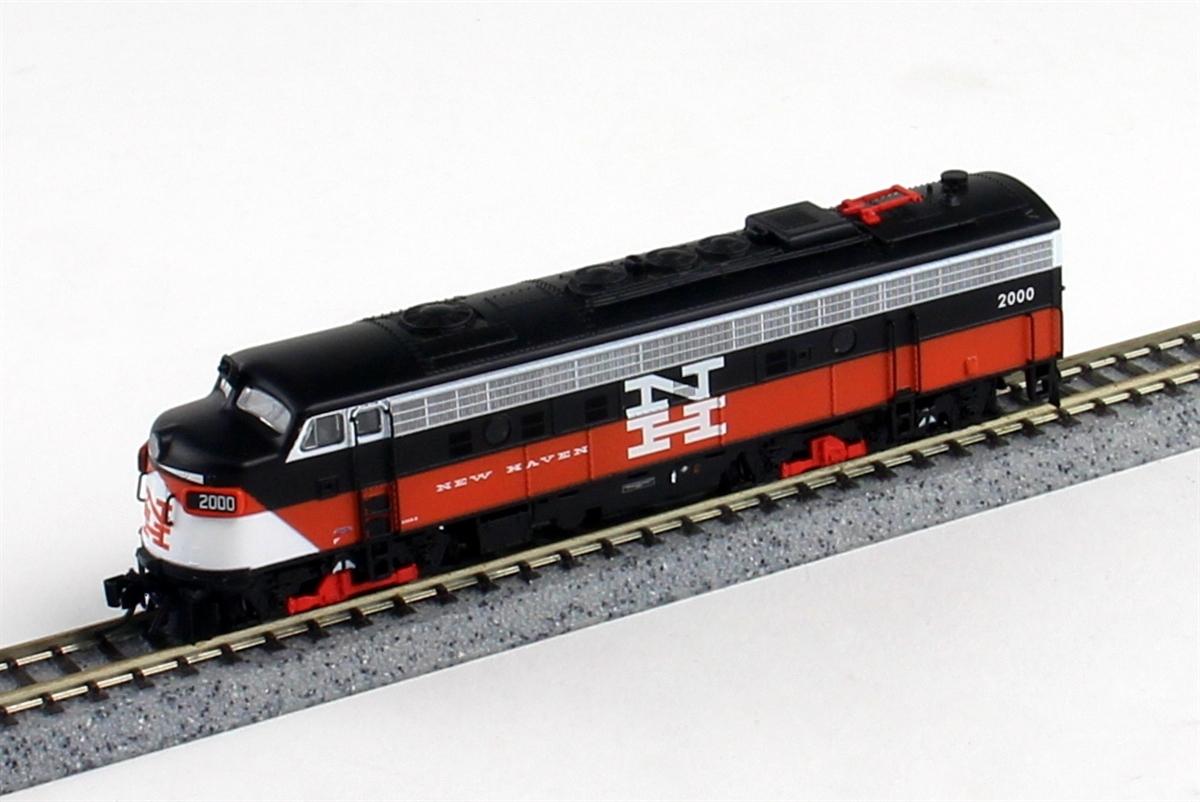 N Scale - Rapido Trains - 15506 - Locomotive, Diesel, EMD FL9 - New Haven - 2022