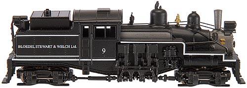 N Scale - Atlas - 41628 - Locomotive, Steam, 2-Truck Shay - Bloedel Stewart & Welch Ltd. - 9
