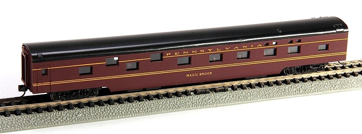 N Scale - Con-Cor - 0001-040071 - Passenger Car, Smoothside, 85 Foot Sleeper - Pennsylvania - Magic Brook