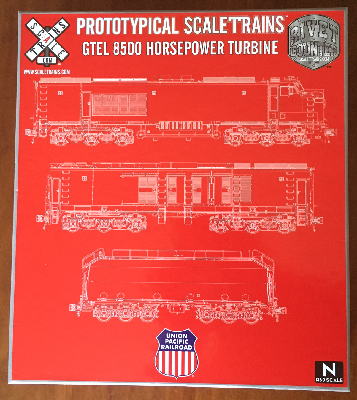 N Scale - ScaleTrains.com - 30231 - Locomotive, Gas Turbine-Electric - Union Pacific - 18