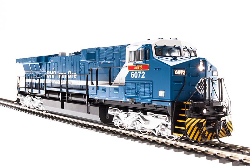 N Scale - Broadway Limited - 3421 - Locomotive, Diesel, GE AC6000CW - BHP Billiton - 6076