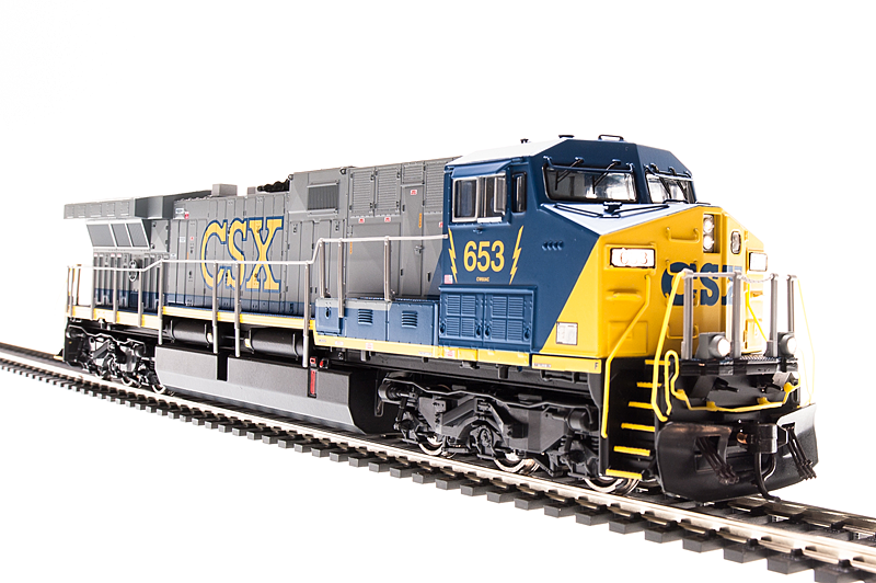 N Scale - Broadway Limited - 3424 - Locomotive, Diesel, GE AC6000CW - CSX Transportation - 625