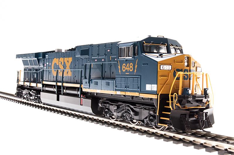 N Scale - Broadway Limited - 3426 - Locomotive, Diesel, GE AC6000CW - CSX Transportation - 606